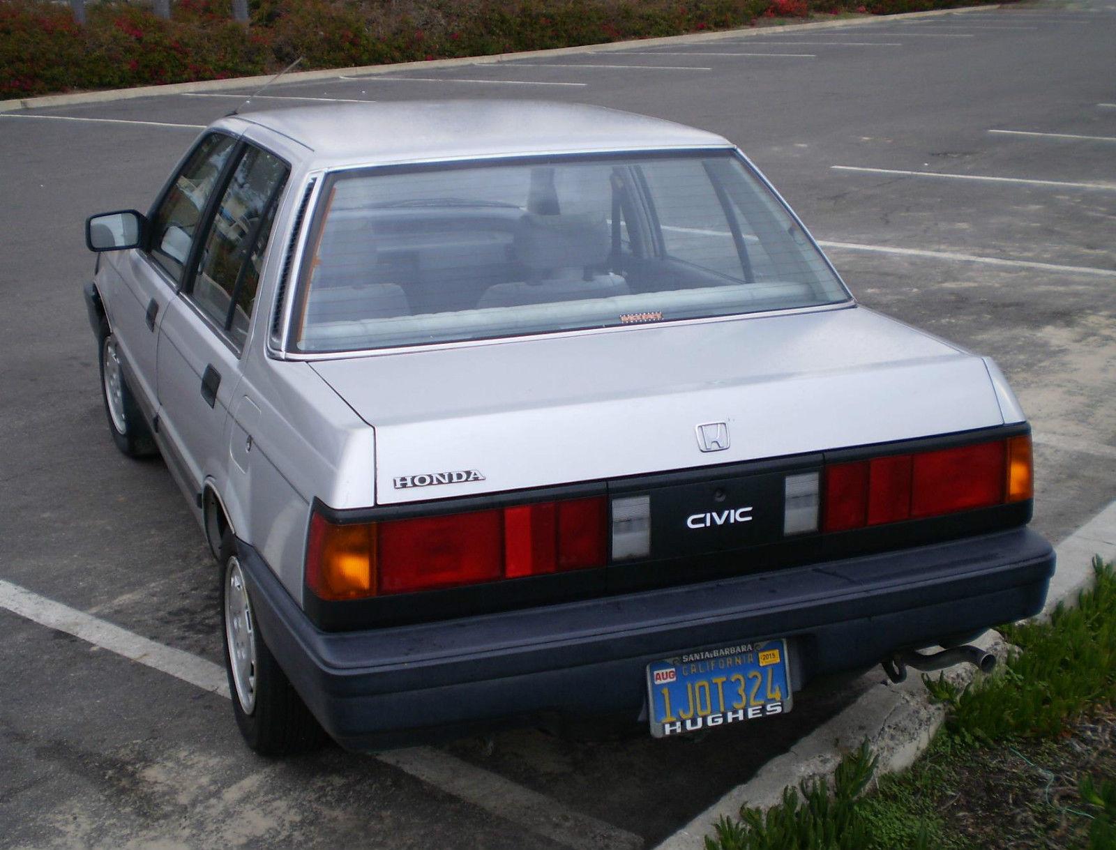 Honda civic sedan 1984 older classic rare 1 owner all for Honda owner login