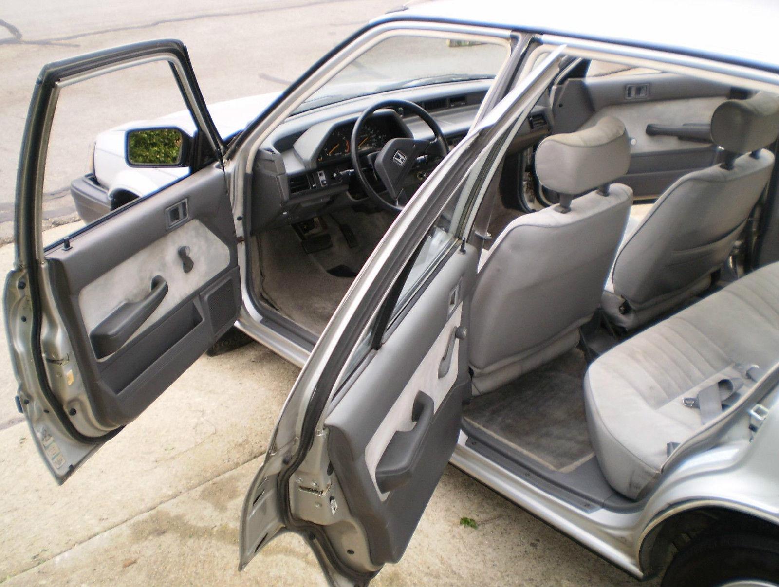 Honda civic sedan 1984 older classic rare 1 owner all for Honda dealership santa barbara