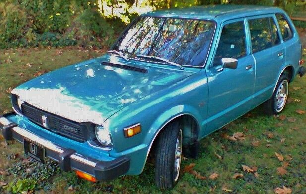 honda cvcc wagon 1st gen 70 39 s time capsule with low miles and no reserve classic honda. Black Bedroom Furniture Sets. Home Design Ideas