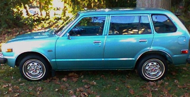 Honda CVCC Wagon. 1st Gen. 70's time capsule with low miles and NO RESERVE!! - Classic Honda ...