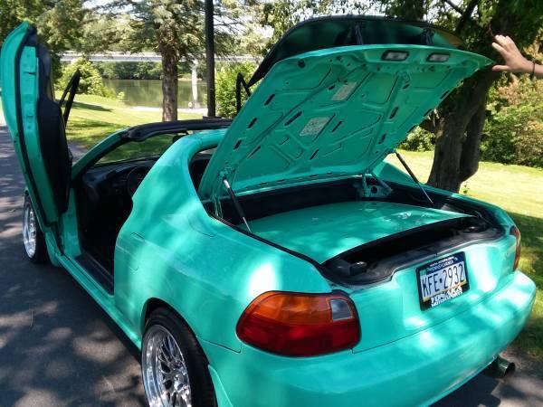 honda del sol lamborghini doors custom stanced convertible delsol civic classic classic honda