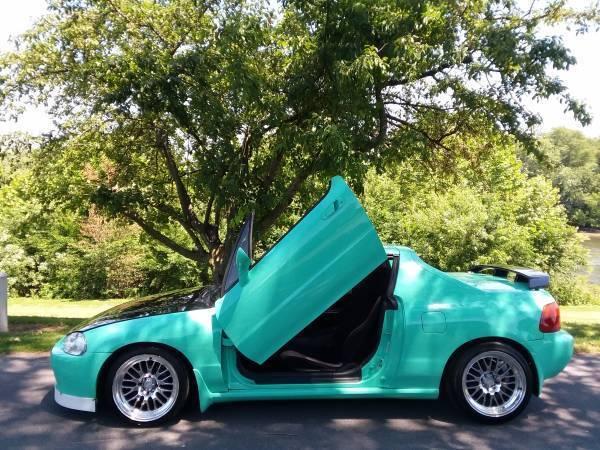 Honda Del Sol Lamborghini Doors Custom Stanced Convertible