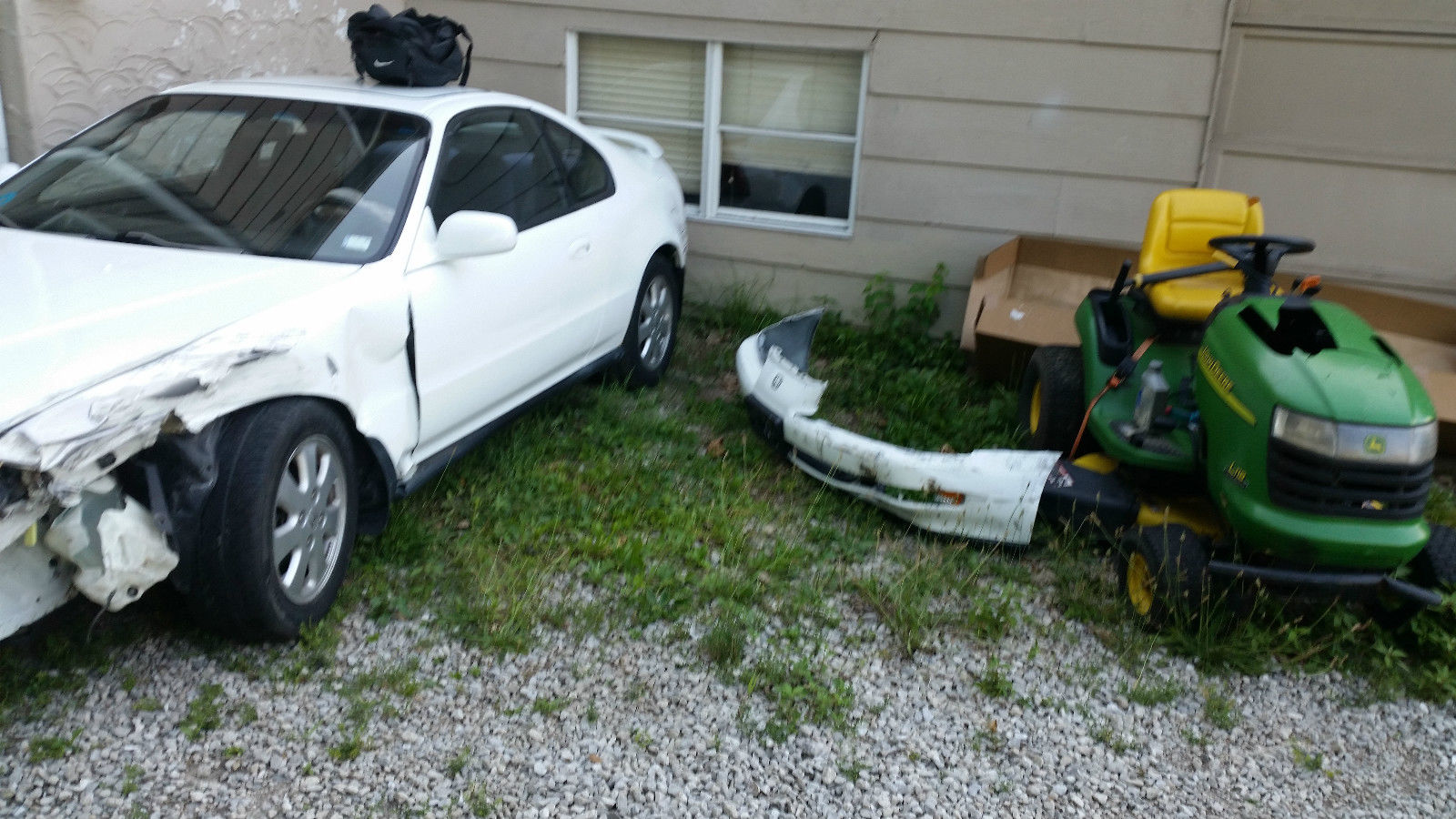 Honda Prelude Parts Car Near New Clutch And Gearbox 70k Miles On 1992 Si Engine
