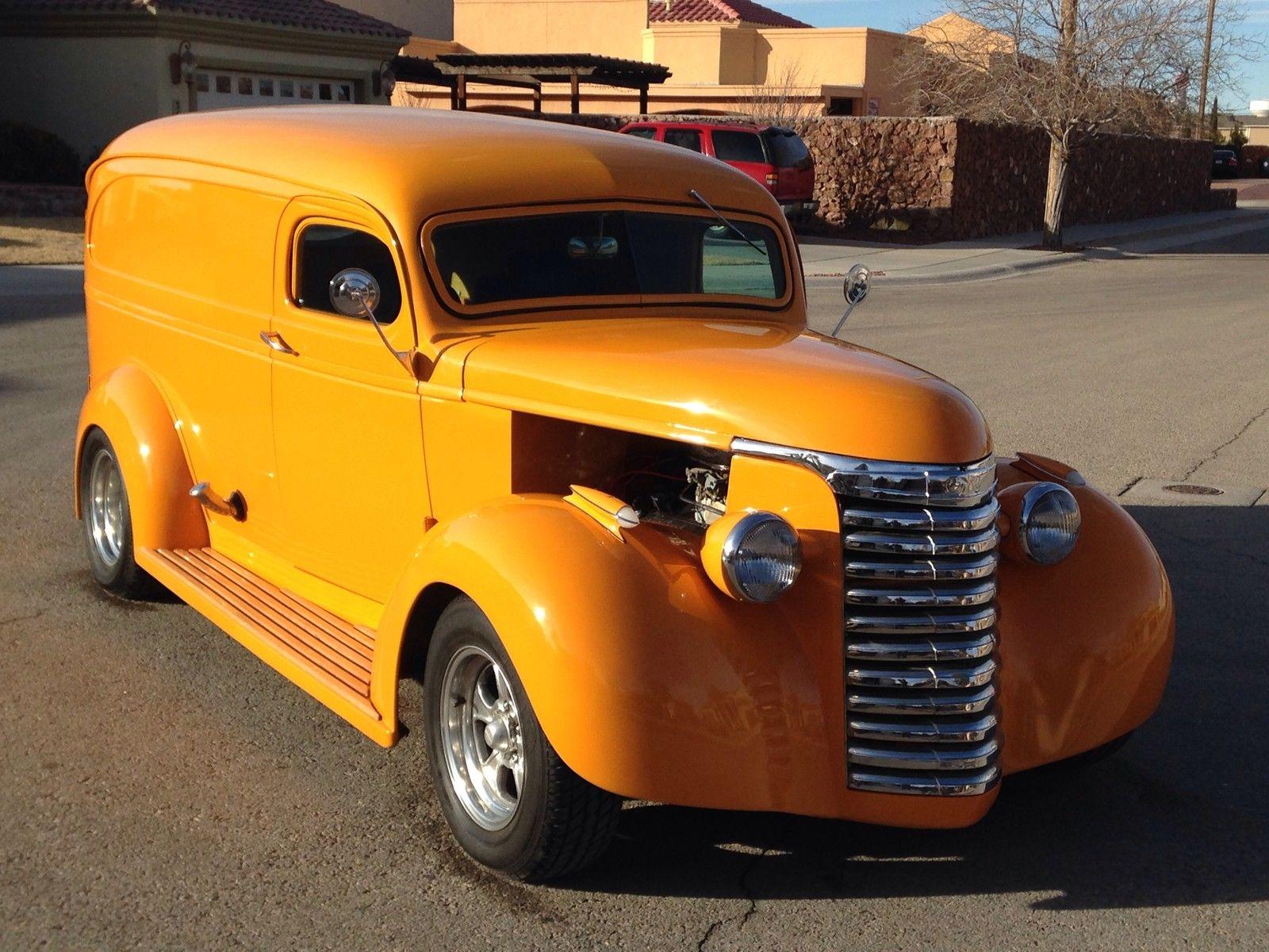 Hot Rod Chopped Panel Rat Shop Truck Classic Gmc Other 1949 Dodge Van