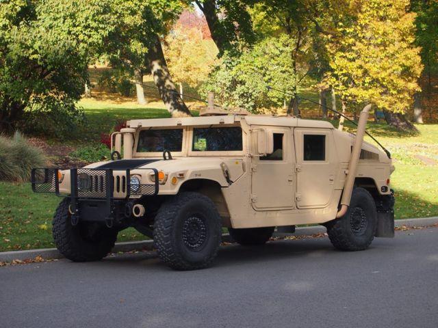 Humvee Hmmwv Hummer H1 M1045 Armor 6 5 Turbo Classic Hummer H1 1980 For Sale