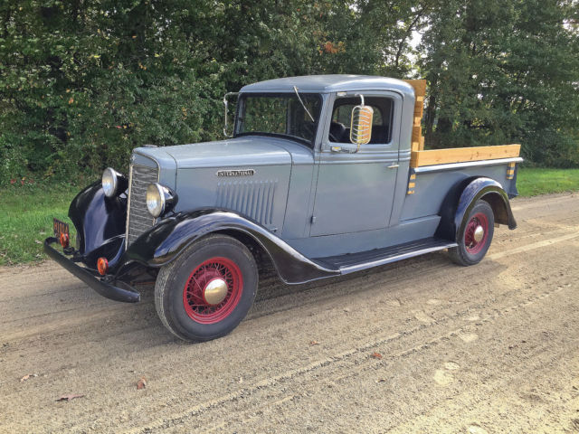 How Much To Replace Transmission >> IH INTERNATIONAL 1935 C1 C-1 HALF TON PICKUP TRUCK ...
