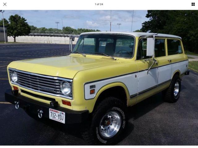 Travelette For Sale >> International Harvester Travelall 200 4x4 IH IHC scout travelette suburban - Classic ...