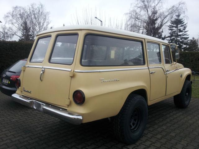 International IHC Travelall 4x4 from 1962 - Classic ...