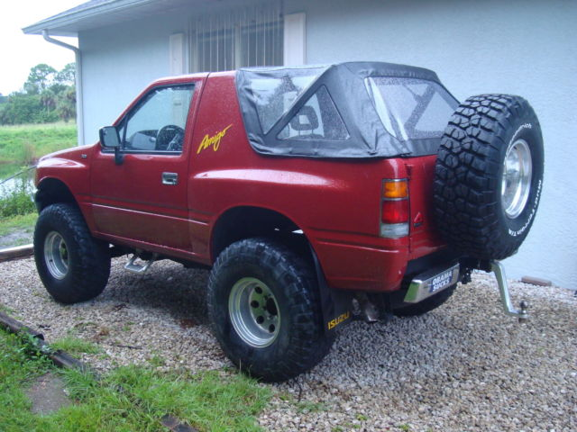 Sell Used Tires >> Isuzu Amigo 4X4 - Classic Isuzu Amigo 1989 for sale