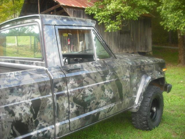 J 10 Jeep Truck 1979 Big Block 4 Speed 4x4 Custom Camo Exterior New Upholstry Classic Jeep