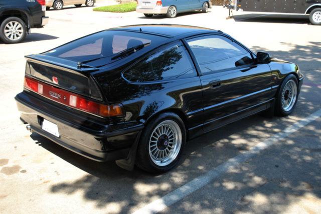 Honda Cr X >> JDM RHD HONDA CRX EF6 LIMITED RARE 1.5X STYLE S2 BLACK 1991 RIGHT HAND DRIVE - Classic Honda CRX ...