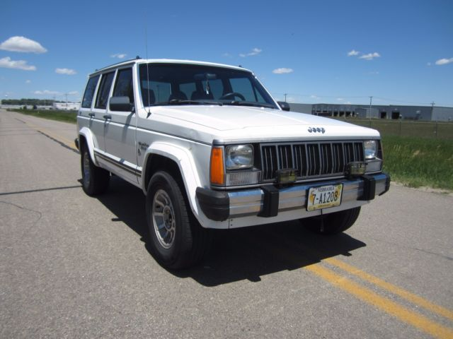 jeep cherokee 4 0 4x4 60k miles classic jeep cherokee 1989 for sale. Black Bedroom Furniture Sets. Home Design Ideas