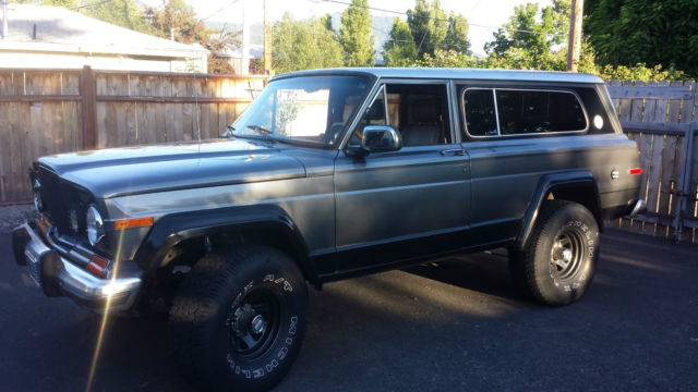 Jeep Grand Wagoneer For Sale >> Jeep Cherokee Chief - Grand Cherokee Wagoneer - Classic ...