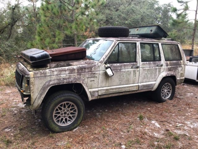 Jeep Cherokee Laredo Body Frame Interior Accessories No Engine Transmission Classic Jeep