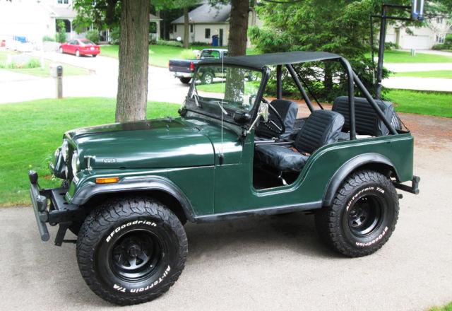 Jeep CJ5, 1974, Classic Jeep - Classic Jeep CJ 1974 for sale