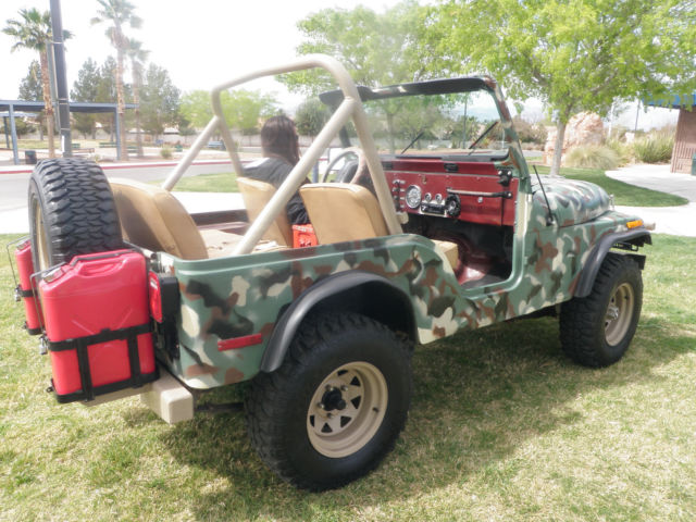 jeep cj5 clean hard top no reserve classic jeep cj 1980 for sale. Black Bedroom Furniture Sets. Home Design Ideas