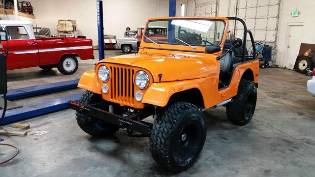 Jeep Cj5 Resto Mod V6 4x4 Rock Crawler Off Road Lifted
