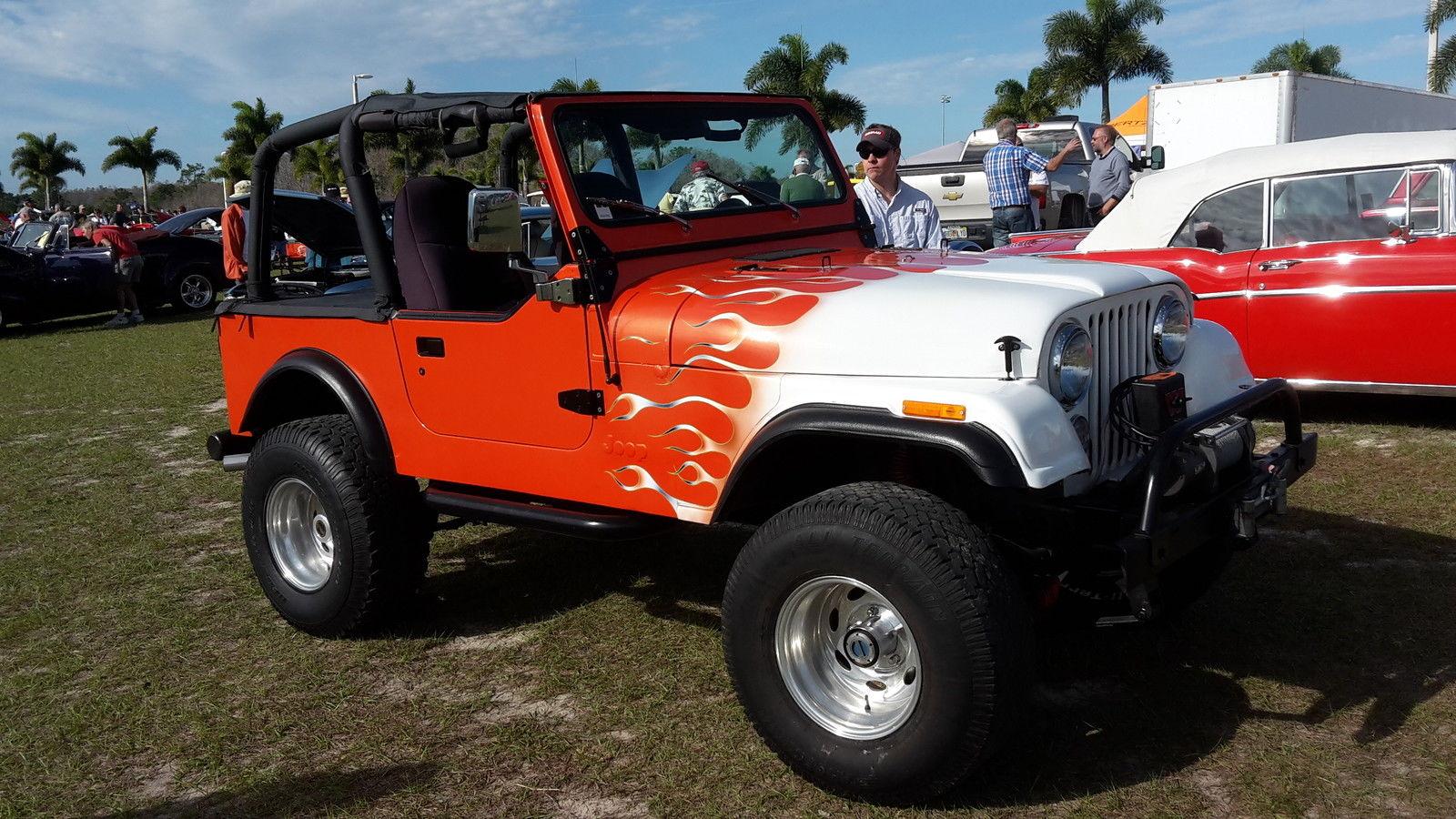 Jeep CJ7 CJ 7 1984 Custom 383 Stroker Turbo aut 2wheel Dr