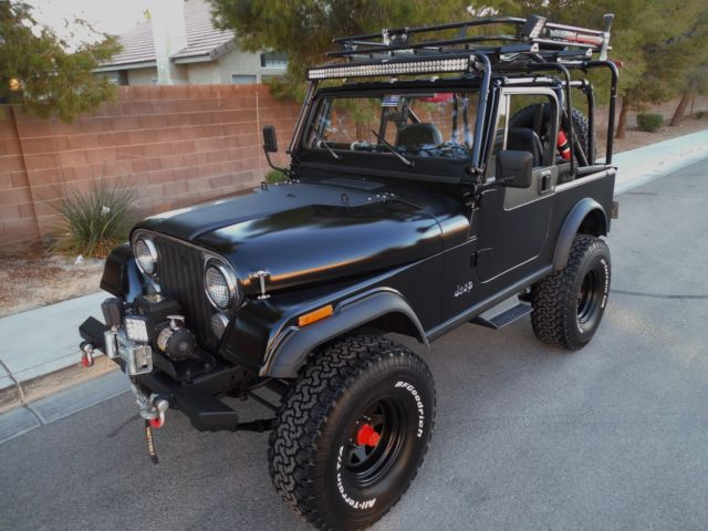 Jeep Cj7 Laredo Restored Rebuilt Loaded With Options