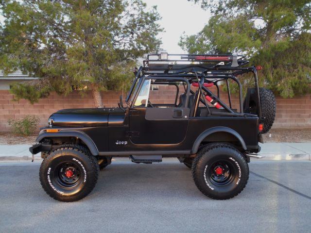 Jeep Cj7 Laredo Restored Rebuilt Loaded With Options