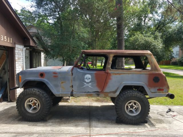Jeep Jeepster Commando Restomod Modern Upgrades Shaved