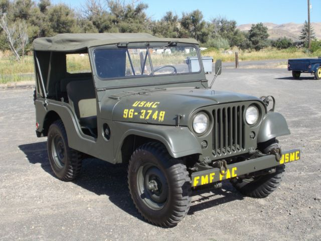 Jeep--Willys, 1957, M38 A1 - Classic Willys M38A-1 1957 ...