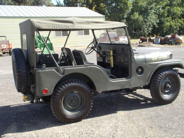 Jeep Willys M A on Willys Jeep Usmc M38
