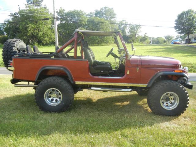 jeep wrangler cj8 cj 8 scrambler classic resto mod classic jeep cj 1982 for sale. Black Bedroom Furniture Sets. Home Design Ideas