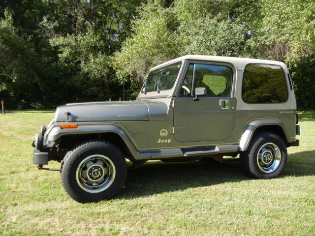 Jeep Wrangler Yj Sahara Classic Jeep Wrangler 1989 For Sale