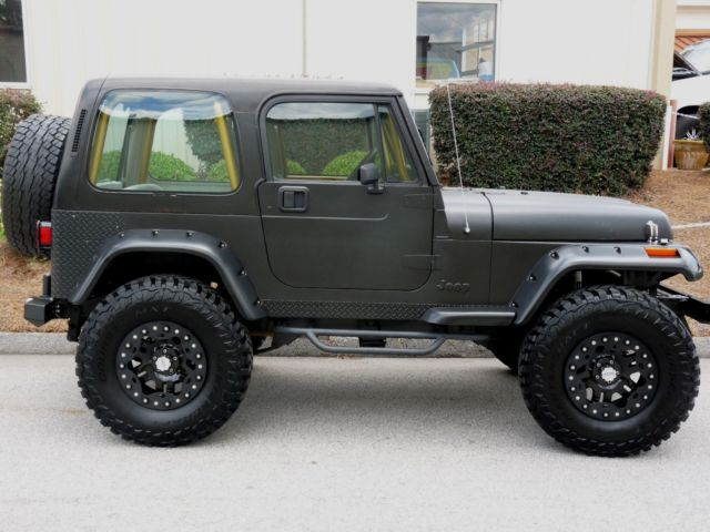 Jeep YJ wrangler 4x4 corvette ls1 conversion - Classic ...