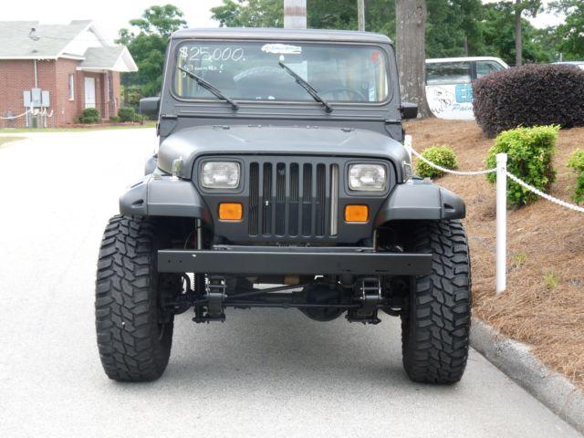 Jeep Yj Wrangler 4x4 Corvette Ls1 Conversion