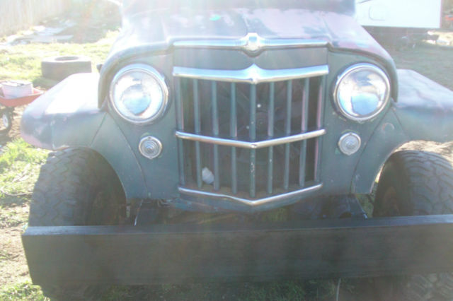 jeep 1955 jeep rat rod hot rod jeep wagon willys willys jeep vintage cars classic jeep other. Black Bedroom Furniture Sets. Home Design Ideas