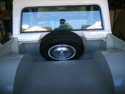 Jeepster Commando Half Cab