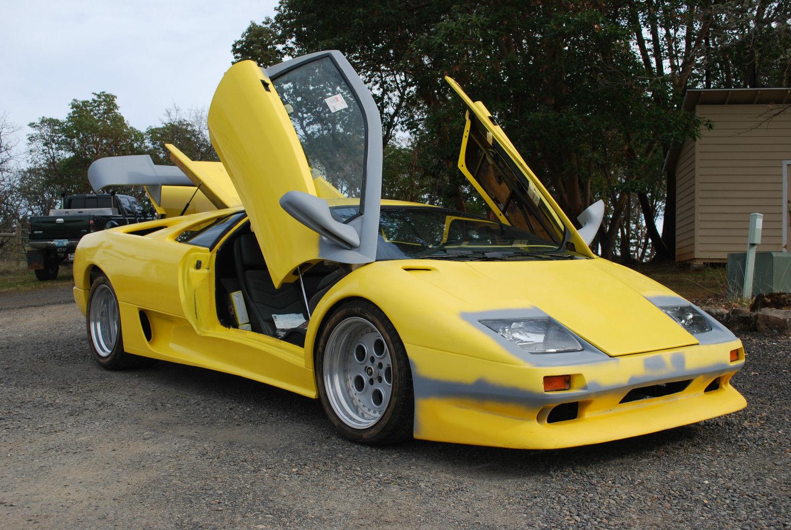 Laborghini Diablo Replica Kit Car Classic Replica Kit Makes