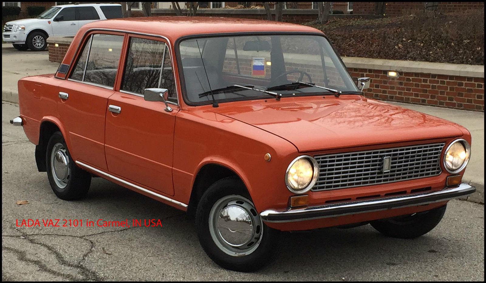 Lada Vaz 2101 Russian Soviet Car In Indiana Very Rare Classic