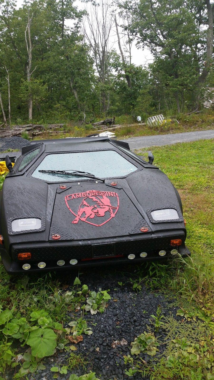 Lamborghini Replica Countach Classic Replica Kit Makes 1987 For Sale