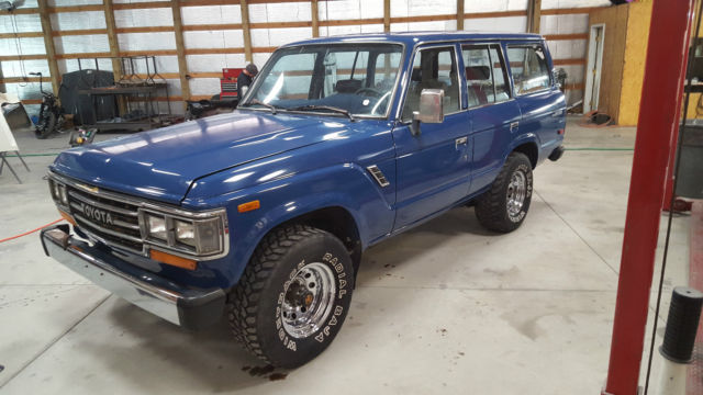 land cruiser fj62 fuel injected 4wd project classic toyota land cruiser 1988 for sale. Black Bedroom Furniture Sets. Home Design Ideas