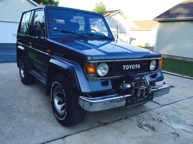 Land Cruiser Turbo Diesel - Classic Toyota Land Cruiser 1985