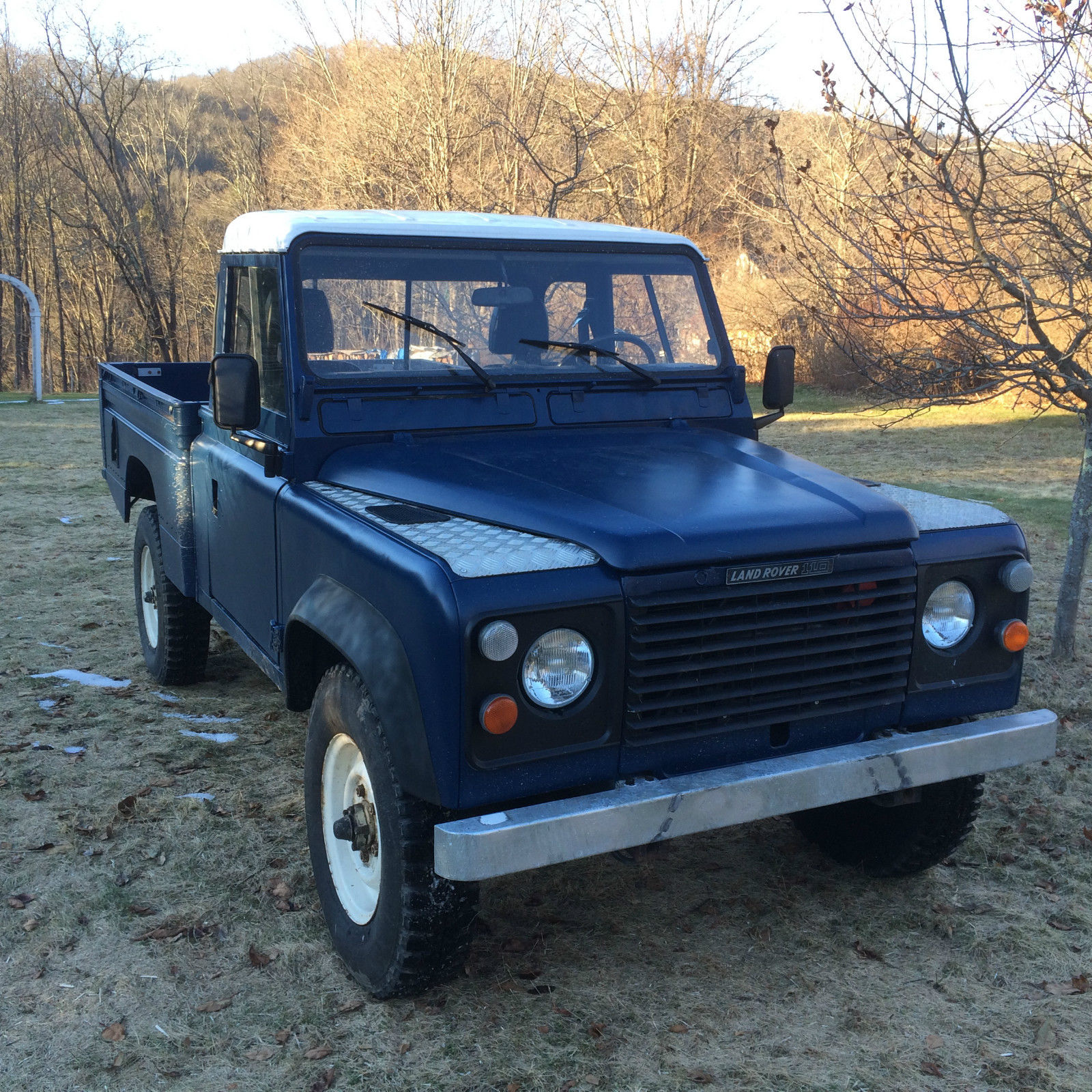 Land Rover Defender 110 Hi Cap Pick Up 1985