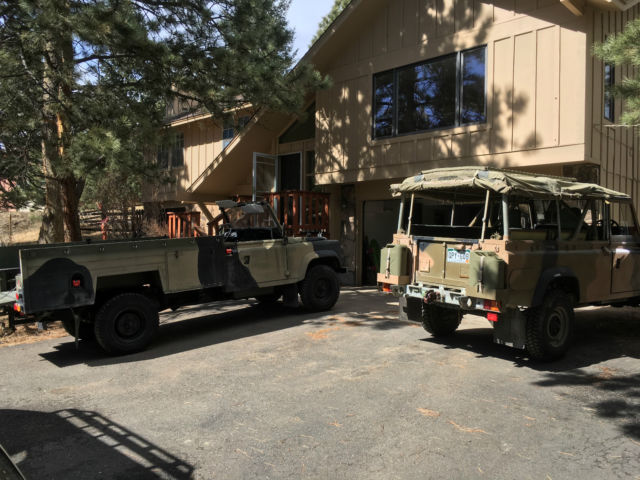 Land Rover Defender 110 Perentie 1989 Classic Land Rover Defender 1989 For Sale