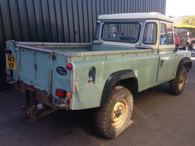 Land Rover Defender 110 Pick Up Truck Cab 3 5 V8 1983