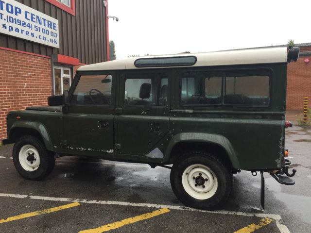 LAND ROVER DEFENDER 110 V8 COUNTY STATION WAGON 1984