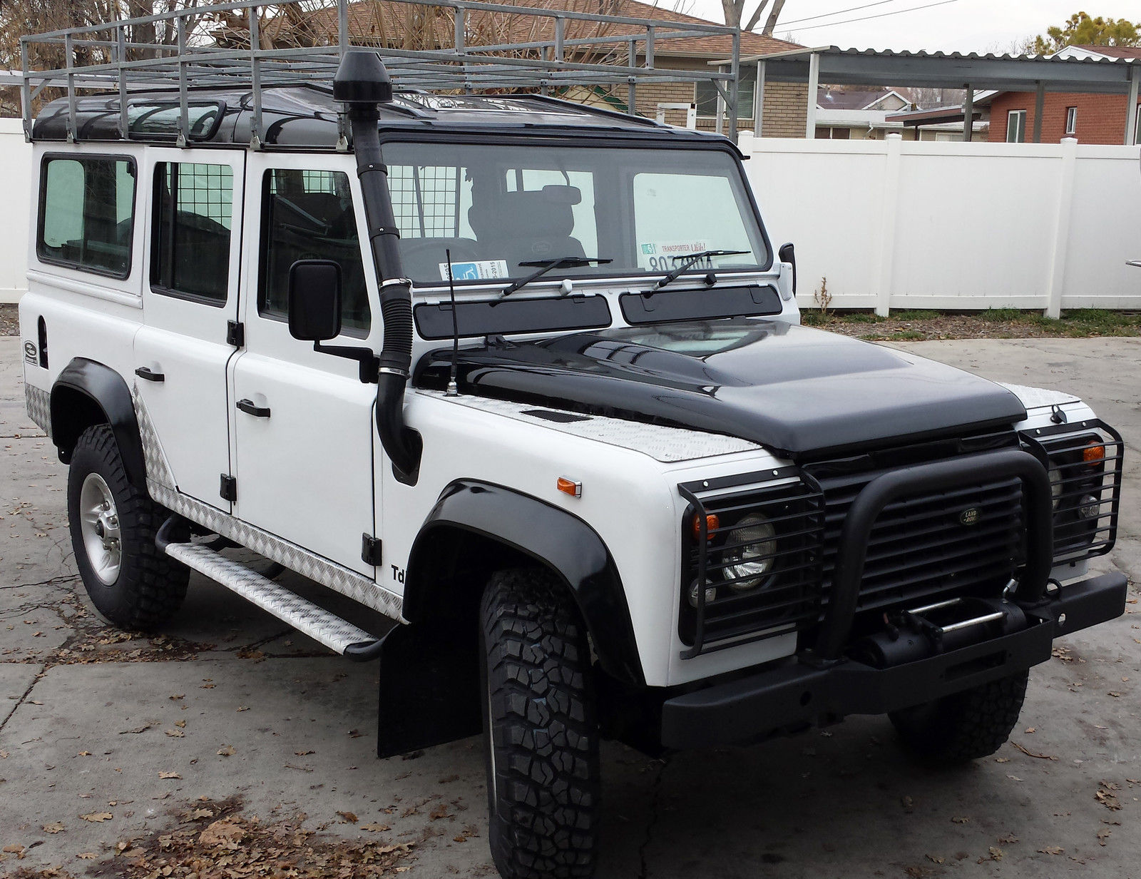 Land Rover Wilmington >> Land Rover Defender 110 with a nice restoration. Diesel, manual, like new - Classic Land Rover ...
