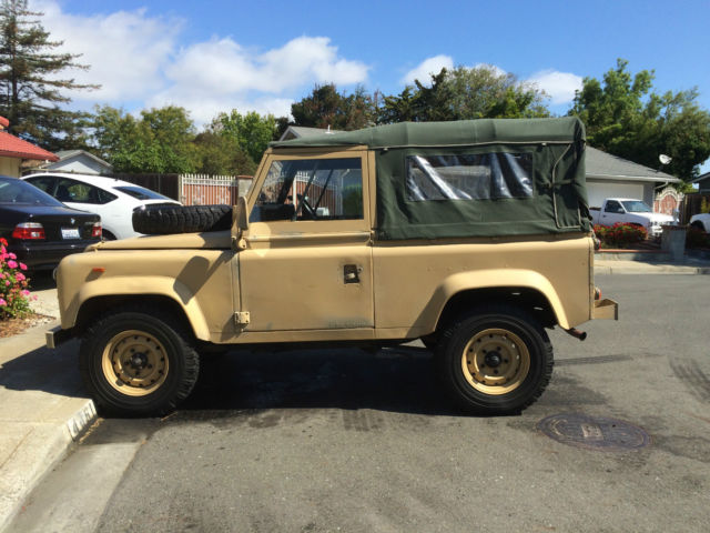 Land Rover Defender 90 Ex Military Mod Army Very Solid