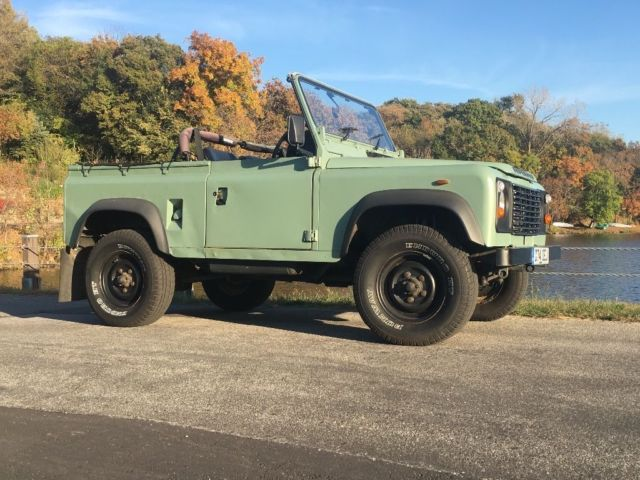 Land Rover Defender 90 Galvanized Chassis Convertible