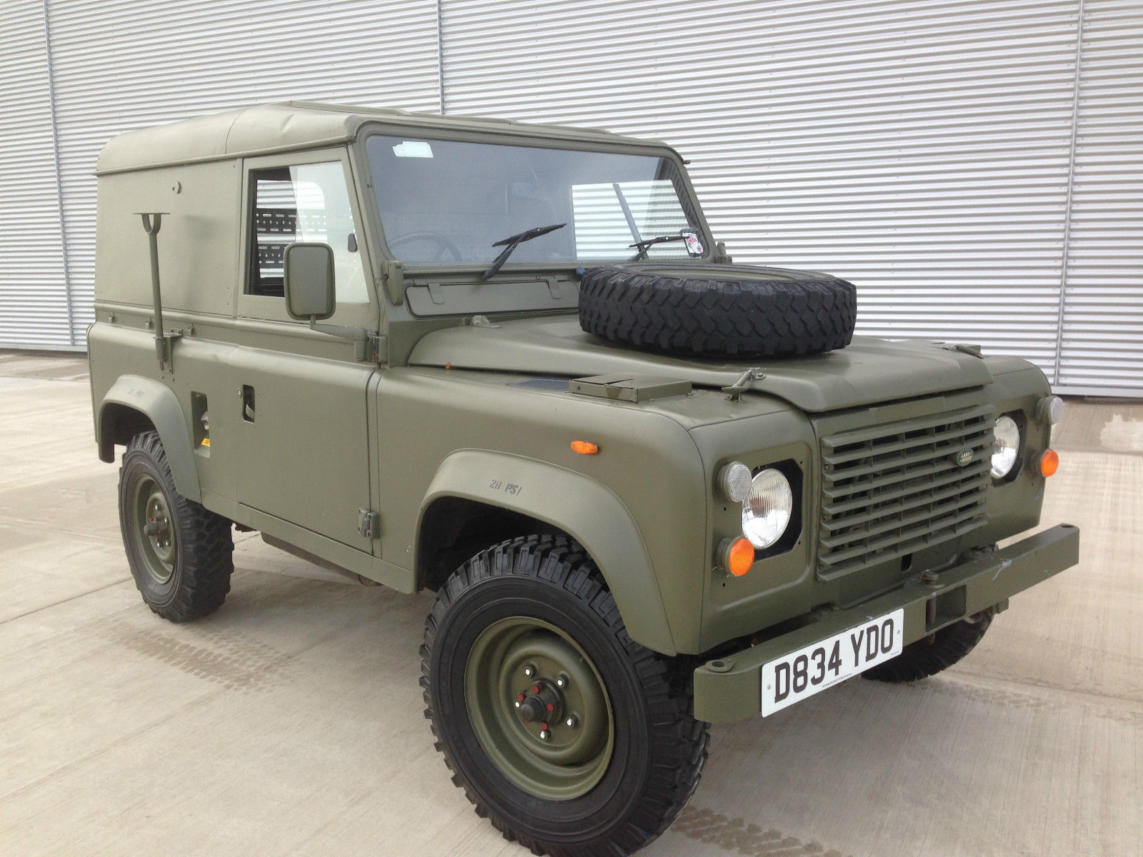 Land Rover Defender 90 Light Utility Truck Diesel Rhd 5