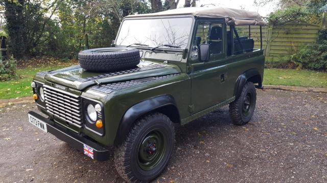 Land Rover Defender 90 Soft Top 1986 Ex Mod Military