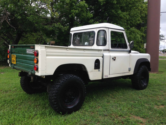 Land Rover Defender Hicap Pickup Rare Model In The Usa