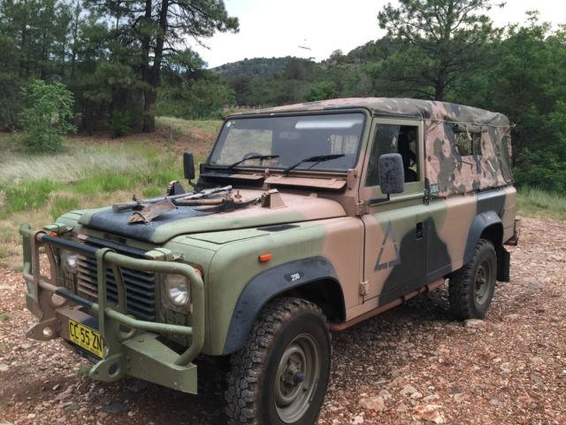 Land Rover Military Perentie Defender 110 Classic Land