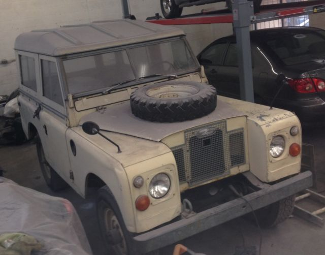Land Rover Kelowna >> Land Rover Series 3 SWB 88' landrover 1972 series III 1973 1974 1975 1976 LHD - Classic Land ...